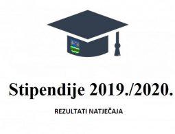 stipendije 2019 2020-REZULTATI